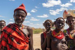Grens Kenia - Ethiopië / Turkana Regio / Ethiopië