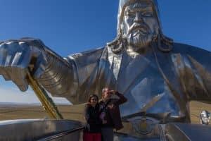 Dzjengis Khan Standbeeld / Mongolië