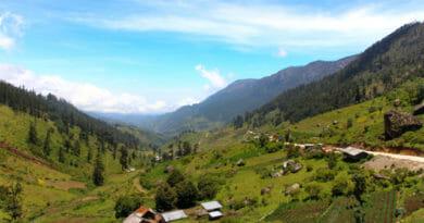 het bergachtige noorden van Guatemala