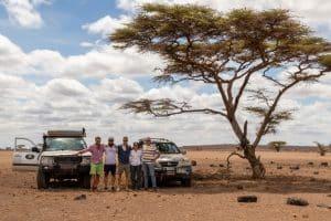 Turkana Meer / Kenia