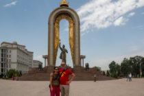 Somoni Monument Dushanbe