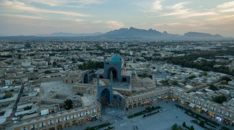 Vriendelijke mensen in Iran bouwden deze Masjed-e Shah moskee.