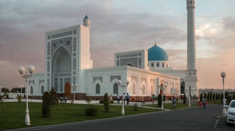 Minor Moskee of witte moskee in Tasjkent
