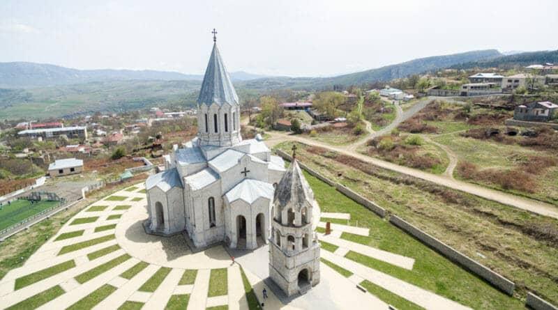 The Catholic church in Shushi / Nagorno-Karabakh.