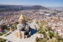 Kathedraal van de heilige drie-eenheid / Tbilisi / Georgië