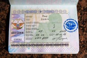 Nagorno-Karabakh visa / Stepanakert / Artsakh