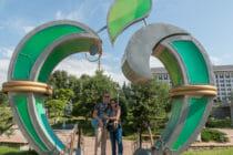 Republic Square Almaty Kazakhstan