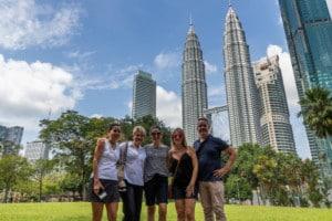 KLCC park / Kuala Lumpur / Maleisië