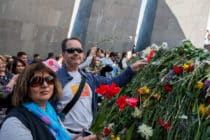 Genocide monument / Jerevan / Armenië