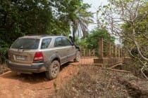 Ergens op de weg van Kédougou naar Labé / Guinea-Conakry