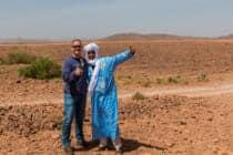 Nabij Flint Oasis / Marokko