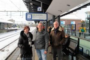 Start van de wereldreis in Apeldoorn / Nederland