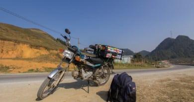 Vietnam per motor, doe je op een Honda Win - www.edvervanzijnbed.nl
