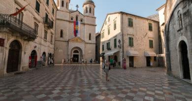 Sint Nicolaas kerk in Kotor - Fotoalbum Montenegro.