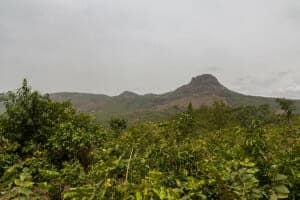 In de buurt van Mali Ville / Guinea-Conakry