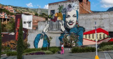 Leuke street-art hoor, maar het model is niet half zo knap als Lucía.