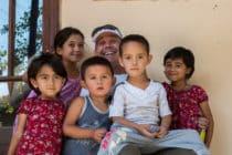 Kids in Istaravshan