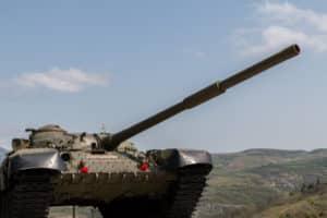 Karabakh tank / Shushi / Nagorno-Karabakh