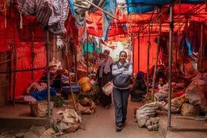 Markt Harar / Ethiopië
