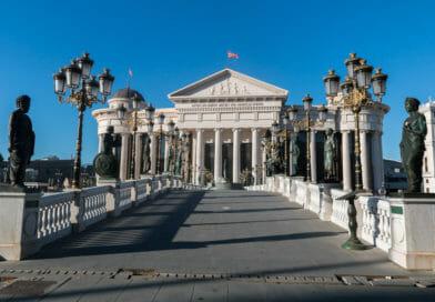 Fotoalbum Macedonië met daarin o.a. deze foto van het Archeologisch Museum.