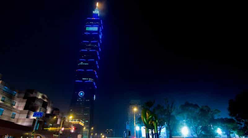 The Taipei 101, geen voorbeeld van Nederlandse invloed in Taiwan