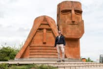 We are our mountains monument / Stepanakert / Nagorno-Karabakh