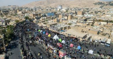 Asjoera / Moeharram festiviteiten in Shiraz / Iran